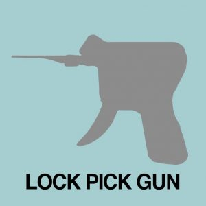 lock picking with a pick gun