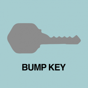 bump key for lock picking