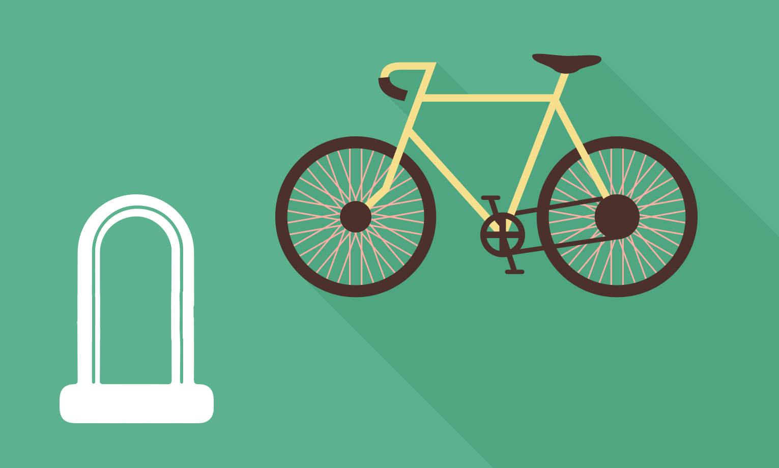 how to pick a bike lock image