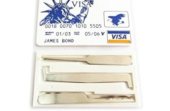 Review: Credit Card Lock Pick Set